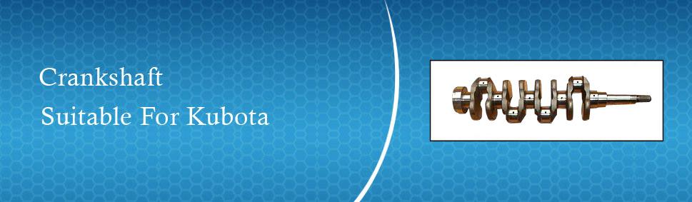 Kubota Engine Crankshafts | Crankshaft For Kubota