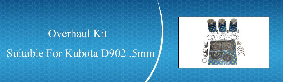 .5 New Kubota D1302 Rings