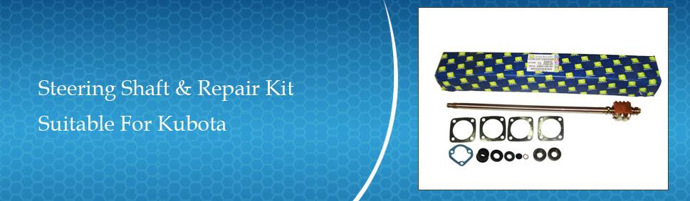 Kubota B6100 Steering Shaft & Repair Kit Combo