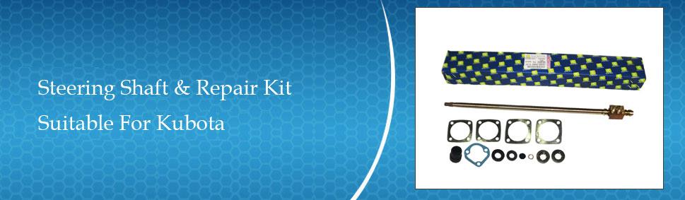 Kubota B7200 HST Steering Shaft & Repair Kit