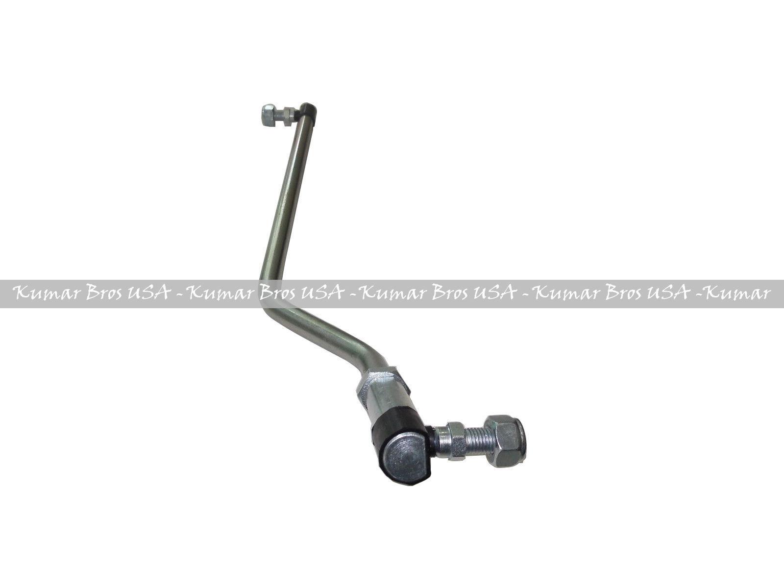 New RIGHT HAND Draglink W//Lock Nuts Fits John Deere LA125 LA130 LA135 LA140