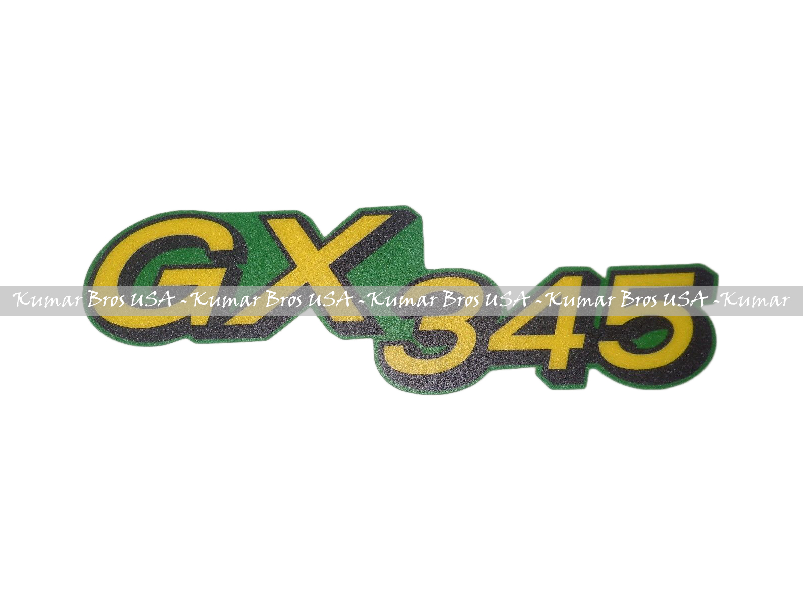 Kumar Bros USA Lower Hood Set of 2 Decals Replaces M145998 Fits John Deere GX345