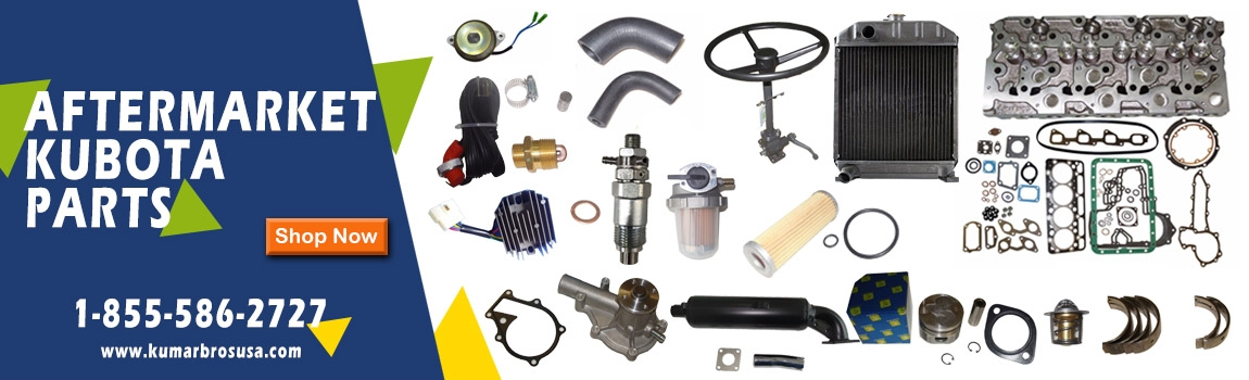 Aftermarket Replacement Parts for Kubota, John Deere, Bobcat