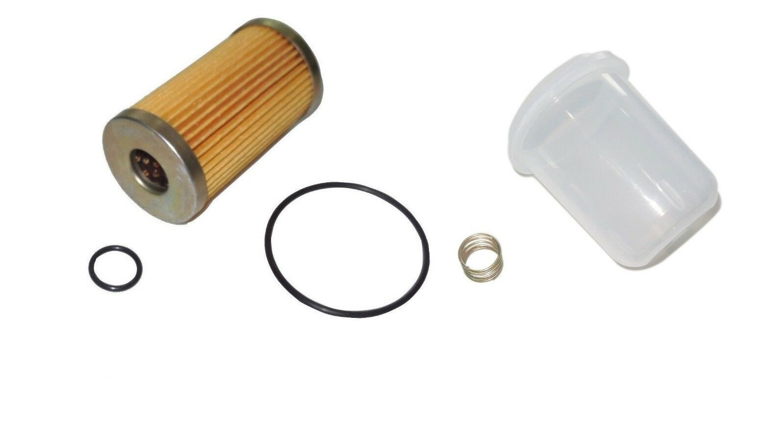 new ford holland fuel filter/bowl/spring t1530, t2310, t2320, t2330, t2410,  t2420  kumar bros usa