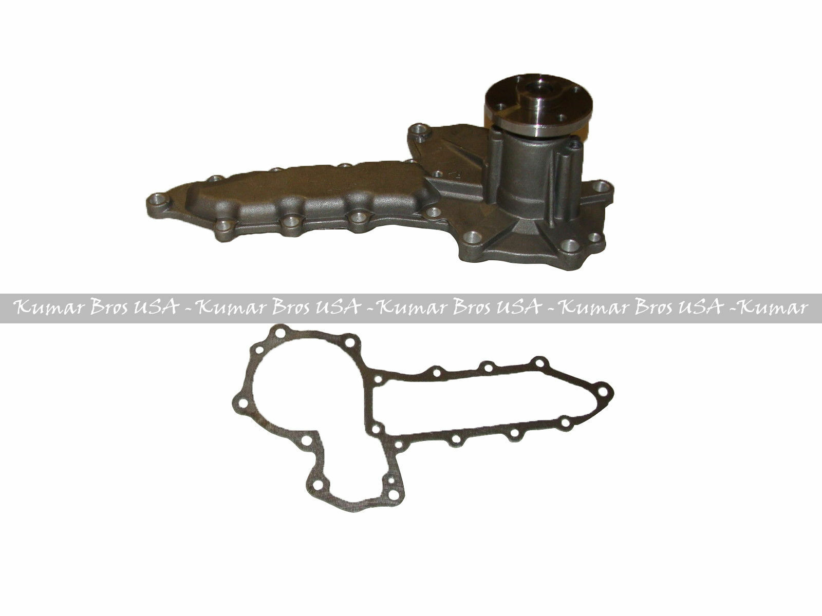New Kumar Bros USA Water Pump with Thermostat for Bobcat 773 773G